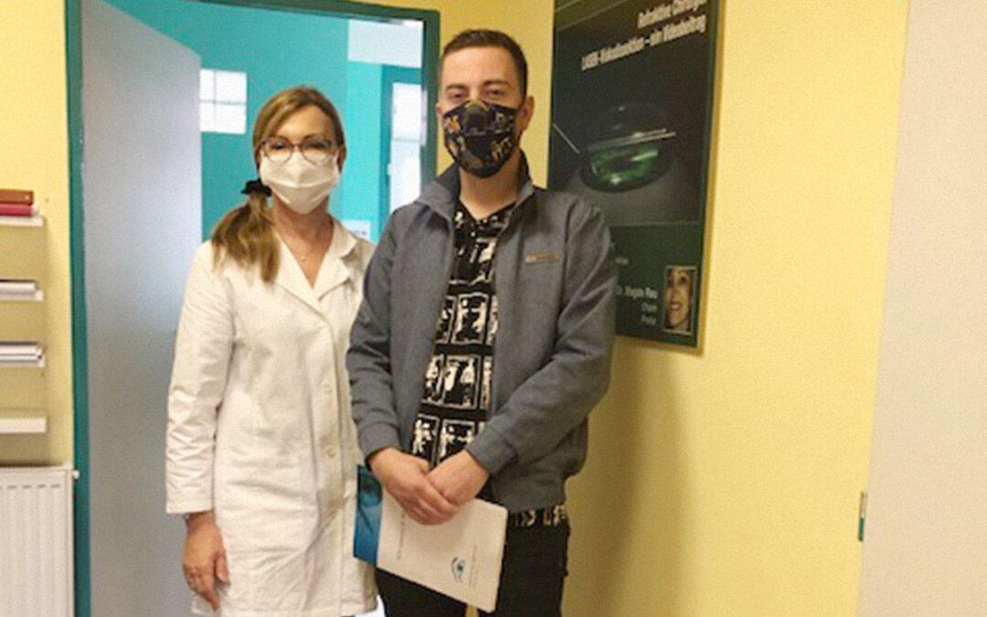 Úspěšná laserová operace